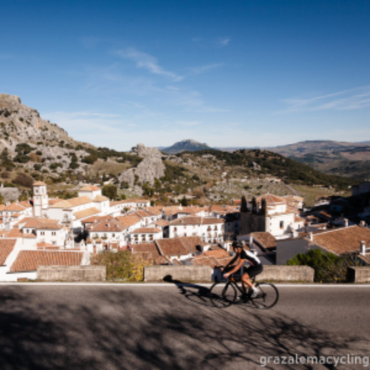 bike rental grazalema cycling routes guided routes